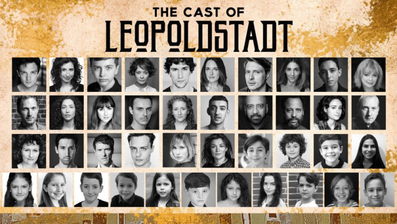 The full cast of Tom Stoppard's Leopoldstadt