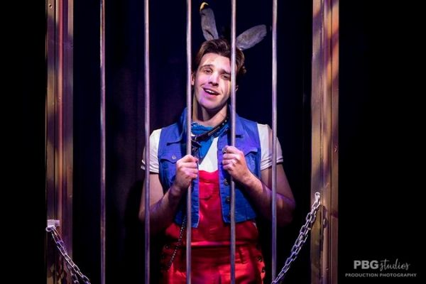 Pinocchio No Strings Attached at Above the Stag
