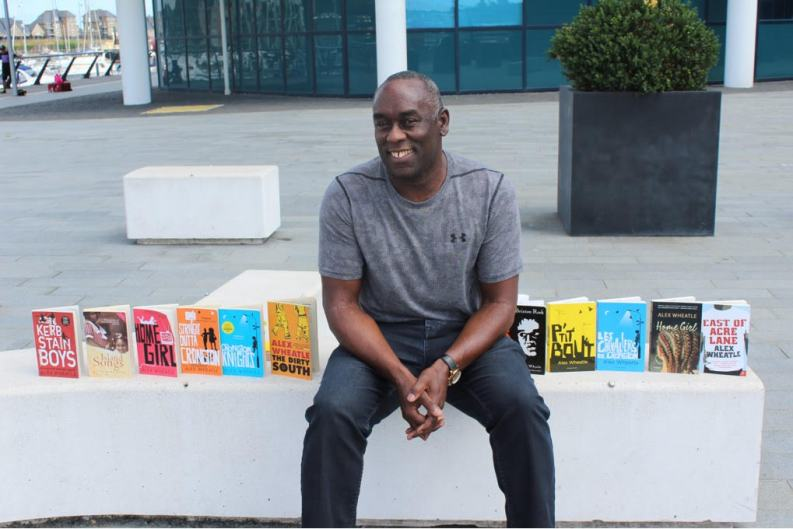 Author Alex Wheatle is the most-read Black British author