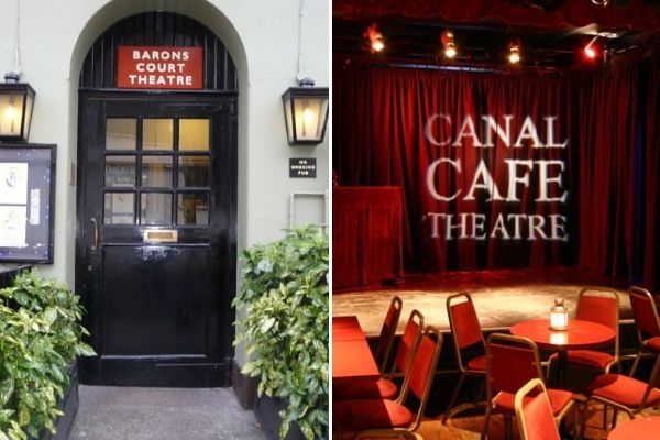Netflix & Chill had previews at Barons Court & Canal Cafe Theatres in 2019