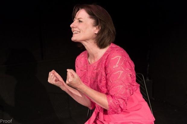 Mary Ryder as Cherie Blair in Cherie - My Struggle. © Conrad Blakemore