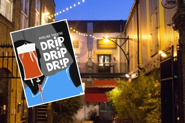 Pipeline Theatre's Drip Drip Drip concludes its 2020 tour with three weeks at London's Pleasance Theatre