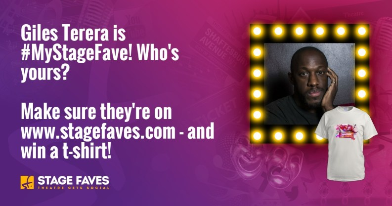 Get social media for Giles Terera & nearly 5000 other musical performers on www.stagefaves.com