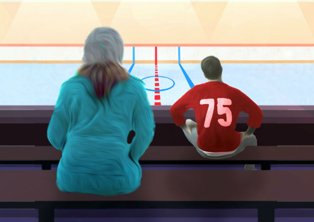 Michael Melski's Hockey Mom, Hockey Dad gets its European premiere at London's Finborough Theatre