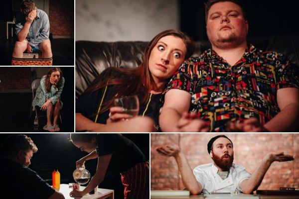 Production shots for Netflix & Chill at London's Drayton Arms Theatre