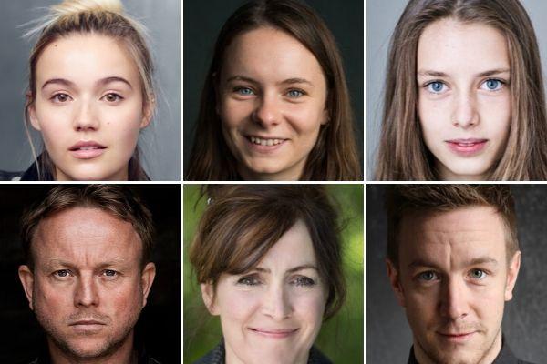 The Still Room cast: Kate James, Larner Wallace Taylor, Zoe Brough, Chris Simmons, Jane Slavin & Jack Colgrave Hirst