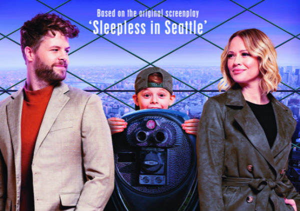 Jay McGuinness & Kimberley Walsh star in Sleepless in Seattle musical SLEEPLESS: A Musical Romance