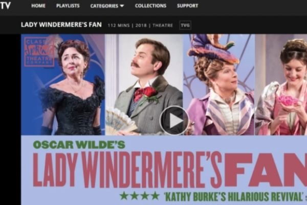 Lady Windermeres Fan Marquee TV