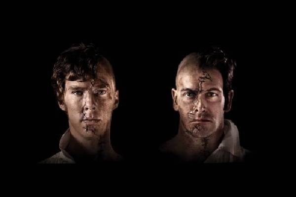 Benedict Cumberbatch and Jonny Lee Miller swapped roles in Frankenstein at the National Theatre