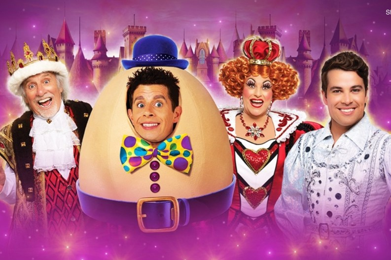 Humpty Dumpty is this year's scheduled pantomime at Theatre Royal Newcastle