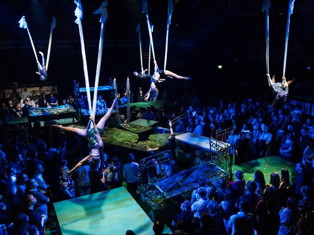A Midsummer Night's Dream at the Bridge Theatre, London