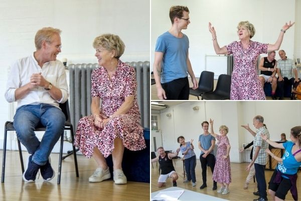 Rehearsals for Call Me Madam. © Flavia Fraser-Cannon