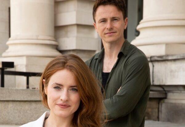 Emer-McDaid-Romaine-and-Joe-McNamara-Leonard-Vole-Witness-for-the-Prosecution.-Photo-Ellie-Kurttz-SM-