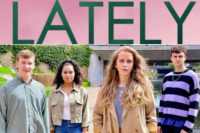 The cast of Lately