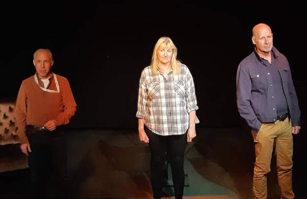 Bren Gosling's Invisible Me premiered at New Wimbledon Studio this month