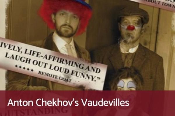 Terri Paddock chairs a post-show Q&A for Anton Chekhov's Vaudevilles