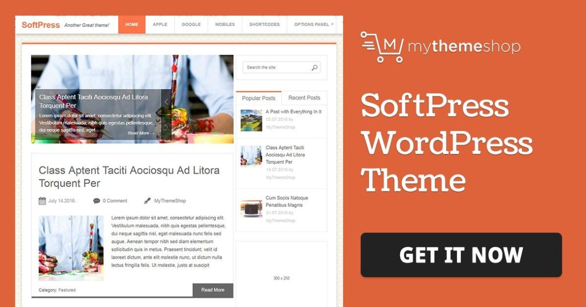 MyThemeShop SoftPress WordPress Theme
