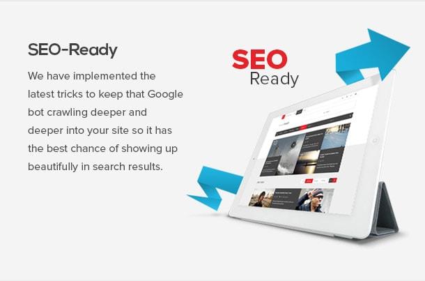 seo ready wordpress theme review