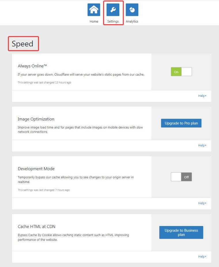 cloudflare-settings-speed