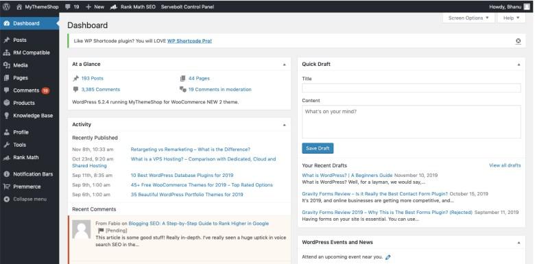Is-What-WordPress-dettagliato-guida