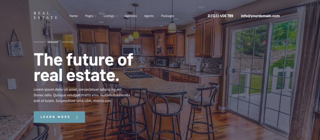 Real Estate Theme MyThemeShop