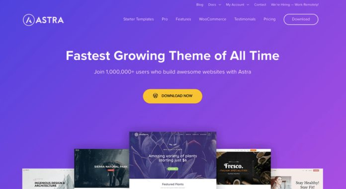 Astra-free-theme