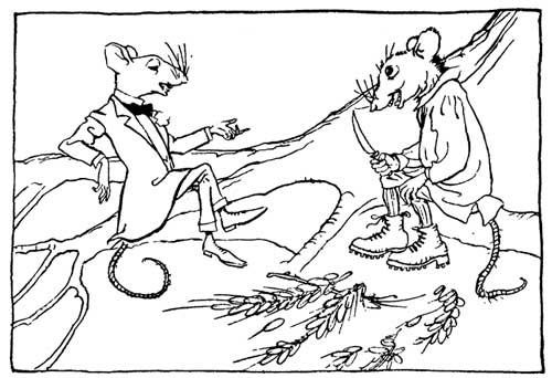The Country Mouse and City Mouse