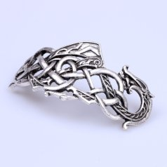 Celtic Knot Dragon Hairpin