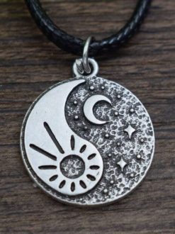 Yin-Yang Moon and Sun