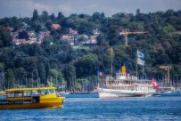 Paddlewheeler Savoie entering Geneva harbour