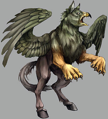 Hippogryph Hippogriff Creatures of Mythology