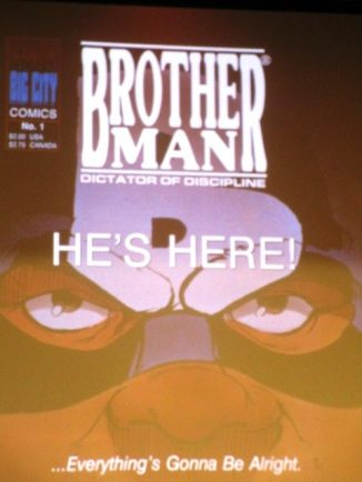 Poster for Brotherman comic book