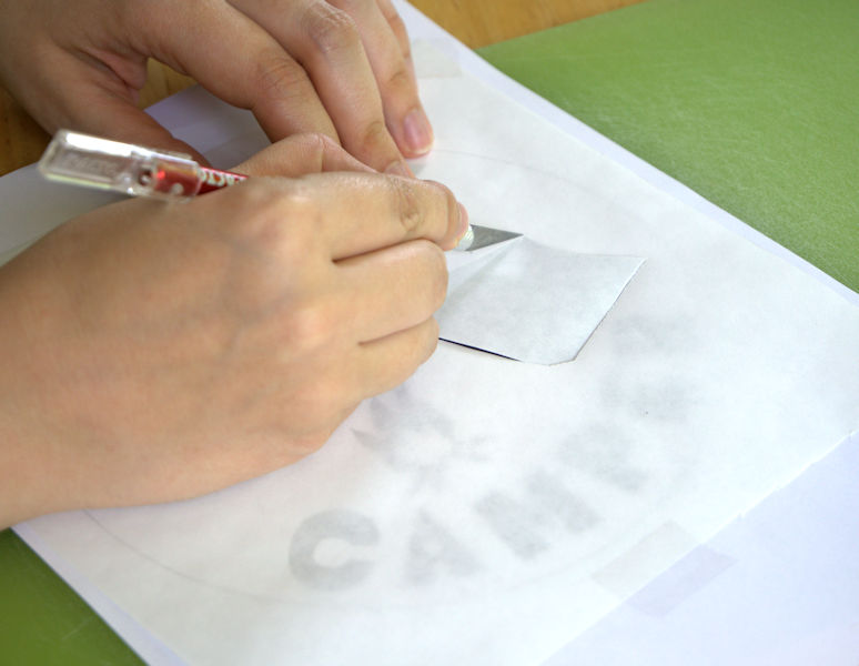 How to Make a Freezer Paper Stencil (with Free Downloadable