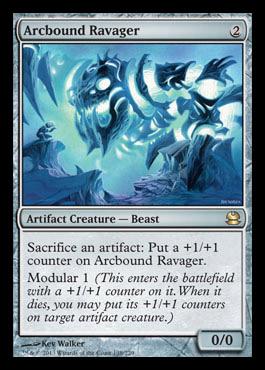 Arcbound Ravager  Modern Masters