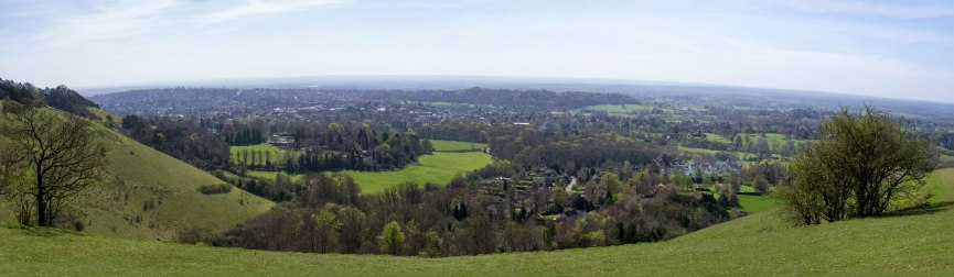 Colley-Hill-Panorama