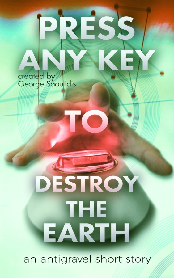 press any key to destroy the earth green