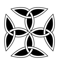 carolingian cross is a symbol most commonly used by the carolingian dynasty of france the dynasty of charlemagne charles the great  [ 899 x 901 Pixel ]