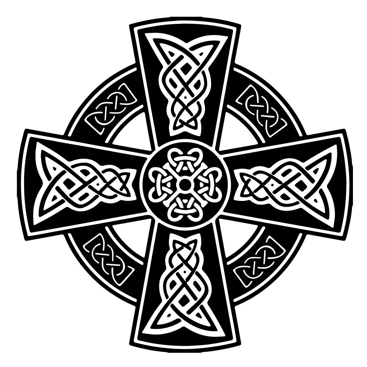 hight resolution of celtic cross
