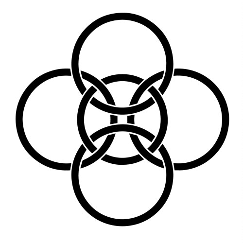 small resolution of  most of the celtic symbols exactly meant due to the lack of written sources of information the most common interpretation suggests that the five fold