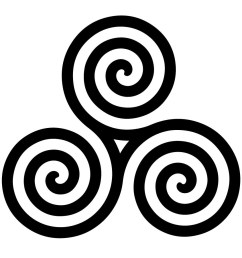 the origin of the symbol goes back to very early times the earliest examples of the triskelion were found in malta 4400 3600 bc on lycian coins  [ 957 x 901 Pixel ]