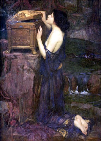 Pandore (1896), WATERHOUSE (CP)