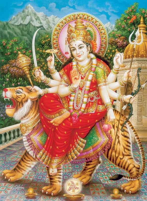 Kali Deesse De L Amour : deesse, amour, Mythologie, Hindoue, Durga