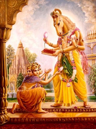 Mythologie hindoue  Hayagriva