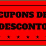 DESCONTO?! Yes, nós temos cupons!