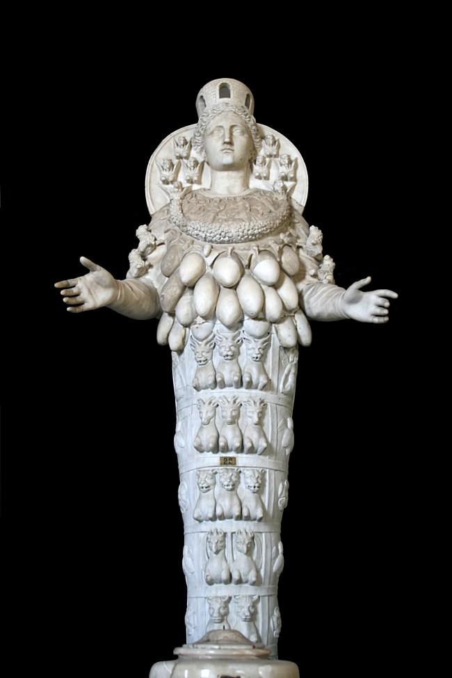 Le Temple D'artémis à éphèse : temple, d'artémis, éphèse, L'Artémis, D'Éphèse, Figure, Diane