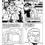 Info about Totally Naked Man and his heroic friends.