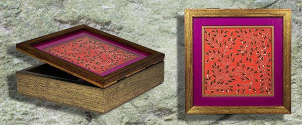 Handmade decorative box