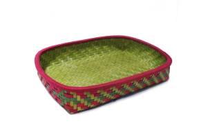 Palmyra leaf basket