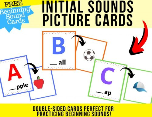 small resolution of Beginning Sounds Worksheets pdf FREE Plus Alphabet Bookmarks!