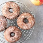 Apple Cider Donuts with Cinnamon Sugar (with video)